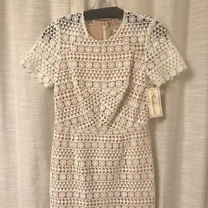 Shoshanna White Lace Dress w/ tags